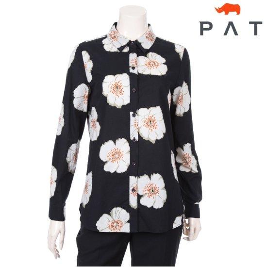 [PAT] 여성 플라워 모티브 코튼 셔츠 1C62508