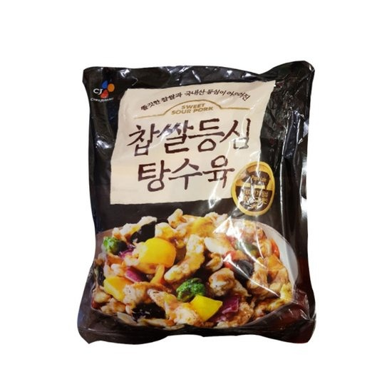 코스트코 씨제이 찹쌀 등심 탕수육 1.2kg_ 소스포함냉동