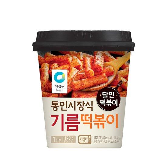 [청정원] 컵 기름떡볶이 170g