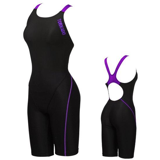 토네이도 여성수영복 준선수용 반전신 18SLR13 BKVI
