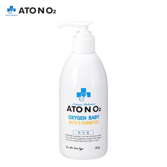 아토엔오투 옥시젠 베이비 약산성 바스&샴푸 300g