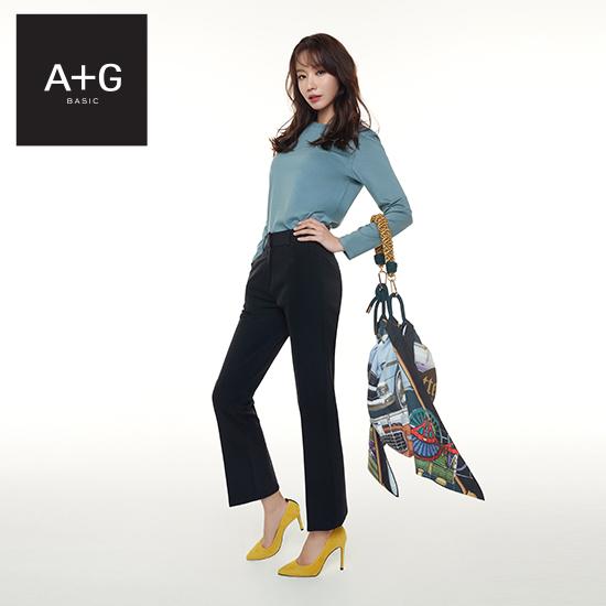 [미리주문10%] A+G 엣지 SPRING19 세미플레어핏 팬츠 3종