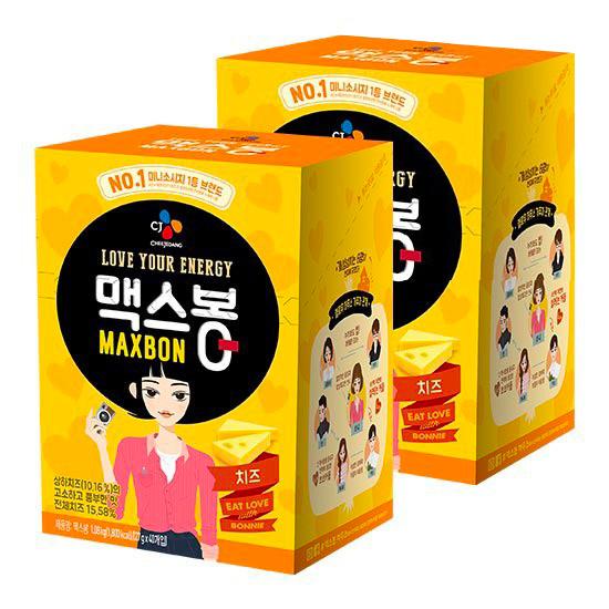 CJ 맥스봉치즈 1.08kg [27g x 40개] X 2박스