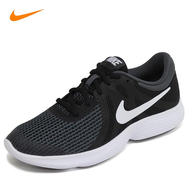 나이키 레볼루션4 GS 여성 여자 운동화 신발 런닝화 검흰 943309-006