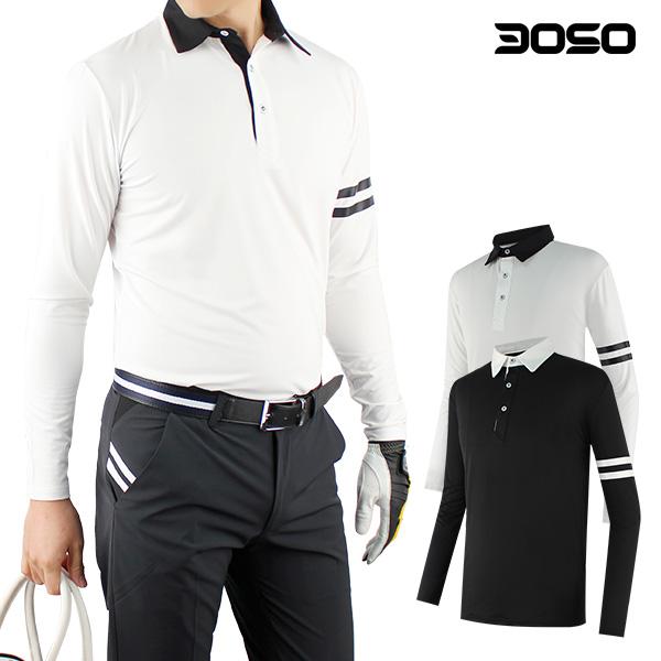 마스터베어 골프웨어 남성이선카라 남자 골프티셔츠