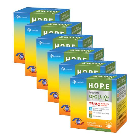 HOPE 아이시안 듀얼액션 6박스