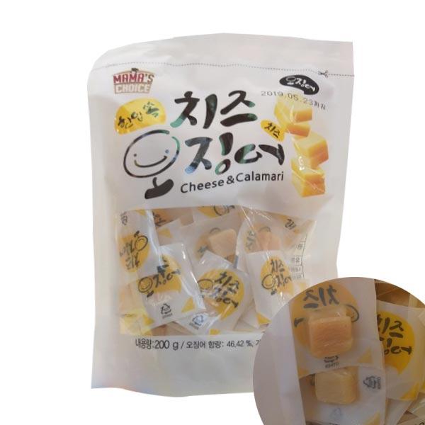 코스트코 MAMA'S CHOICE 치즈오징어 200G48개