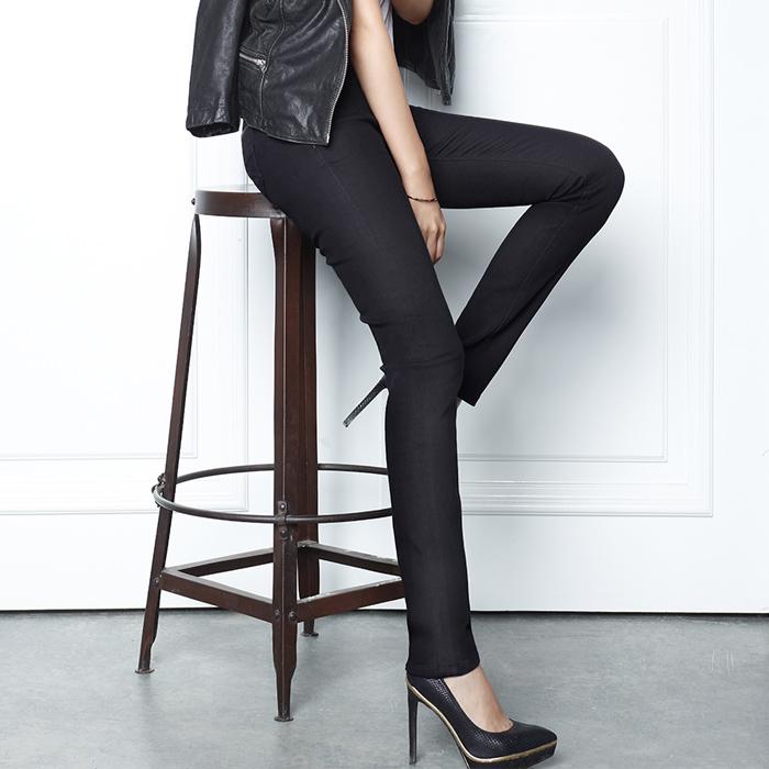 까레라 스테이웜 기모진 여자 블랙