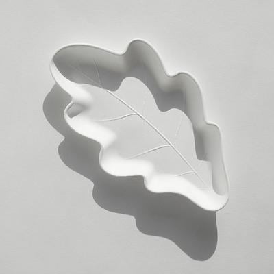 바보사랑 오크잎접시 4P M 일회용접시.김현주 스튜디오