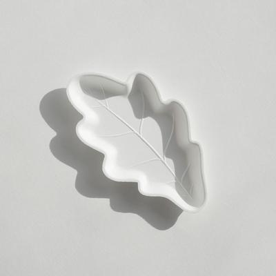 바보사랑 오크잎접시 4P S 일회용접시.김현주 스튜디오
