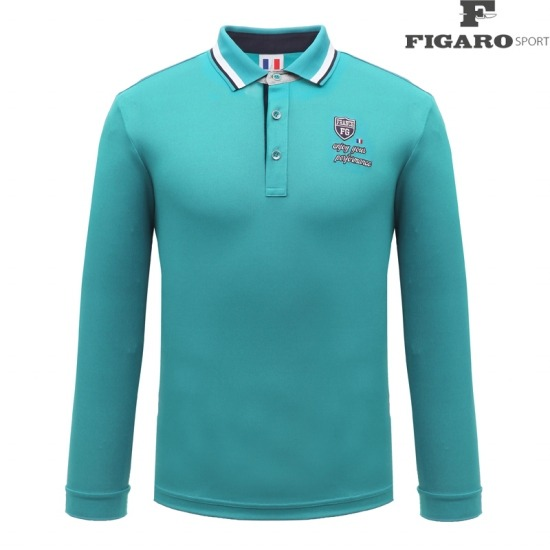 [피가로스포츠] 남성 카라 포인트 티셔츠 4F8STE050M_TL