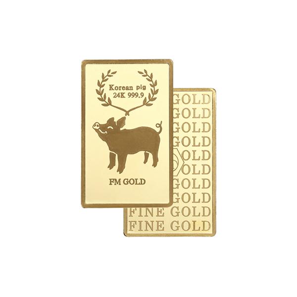 24K 순금 황금돼지 골드바 A타입 1.875g
