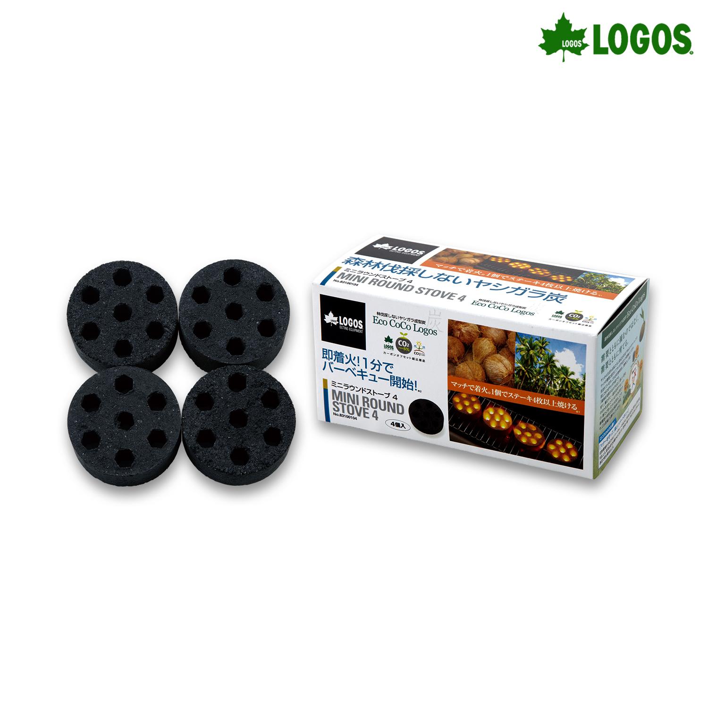 로고스 코코넛 숯 바베큐 차콜 4 미니 BBQ 활성탄 야자숯 캠핑용품