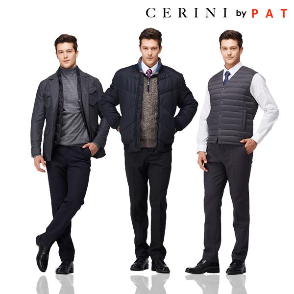 [Cerini by PAT] 남성 소프트 기모 릴렉스 팬츠