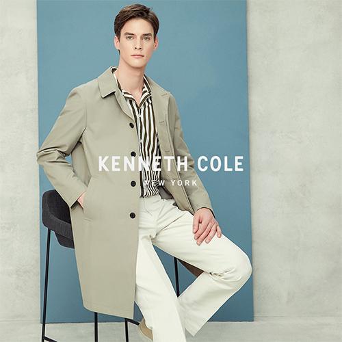 [케네스콜]남성 발수 싱글 트렌치 코트 HKMSCCT101P