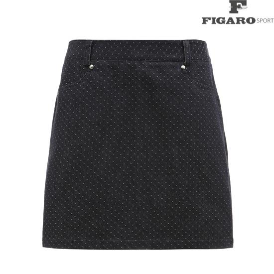 [피가로스포츠] 여성 자가드 패턴 큐롯 4F8SPQ524M_NA