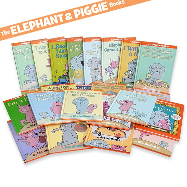 [영어원서] Elephant and Piggie 픽쳐북 25종 세트Hardcover 코끼리 피기