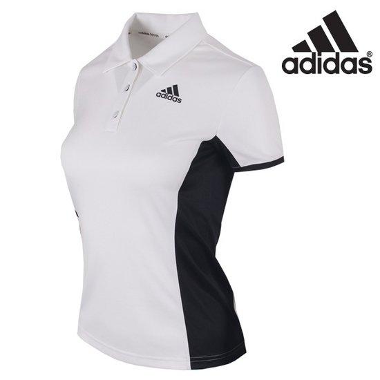 아디다스 여성 코트 폴로 카라 테니스 반팔 카라 티셔츠-AJ6067