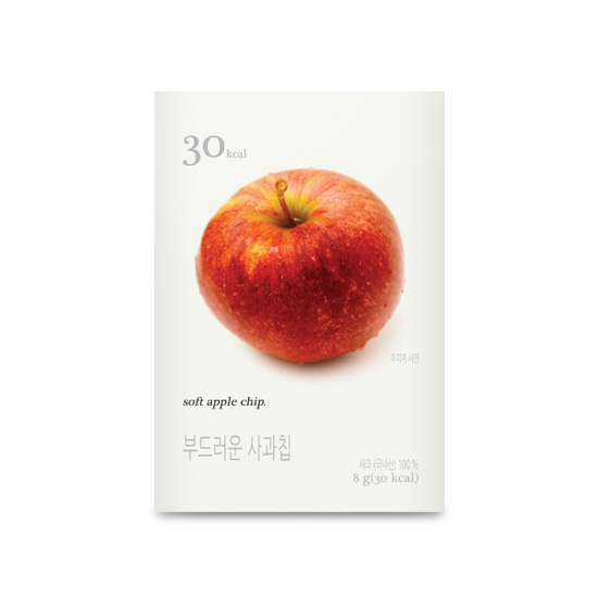 부드러운 사과칩 8g