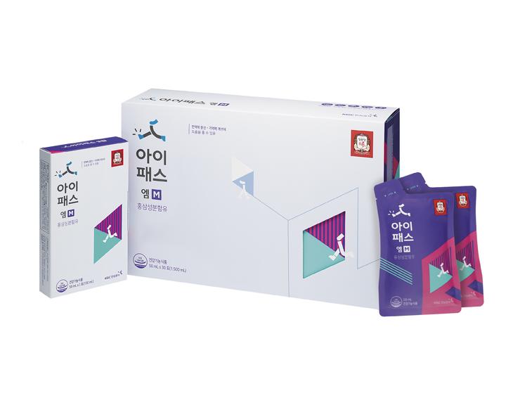 [정관장]아이패스엠/50mlx30포 1박스+3포 추가