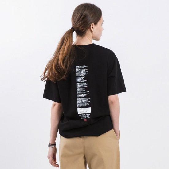 19ss 플루크 백사이드 아트웍 반팔티셔츠 FST107 / 2color