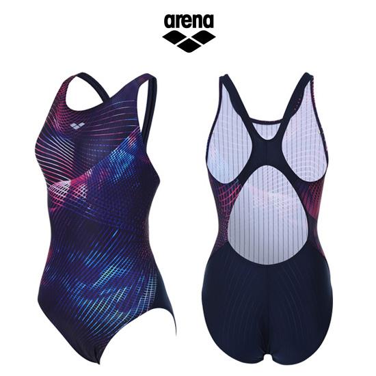 아레나 여성 일반 원피스 수영복 AVSPL02PNK