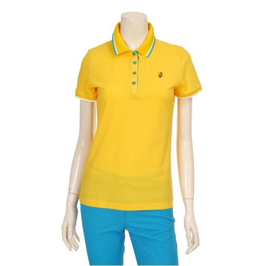 [마코] 여성 카라 back 프린팅 포인트 티셔츠 4MGW2TS90_22