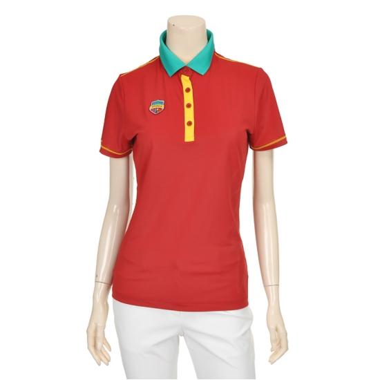 [마코] 여성 액티브 그라데이션 프린팅 티셔츠 4MGW2TS74_32