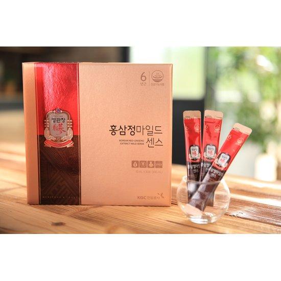 [하루한포쏙] 정관장 스틱형 홍삼정마일드 센스 6박스 +10포