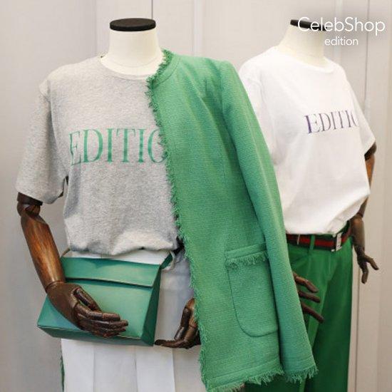 셀렙샵 에디션 레터링 티셔츠