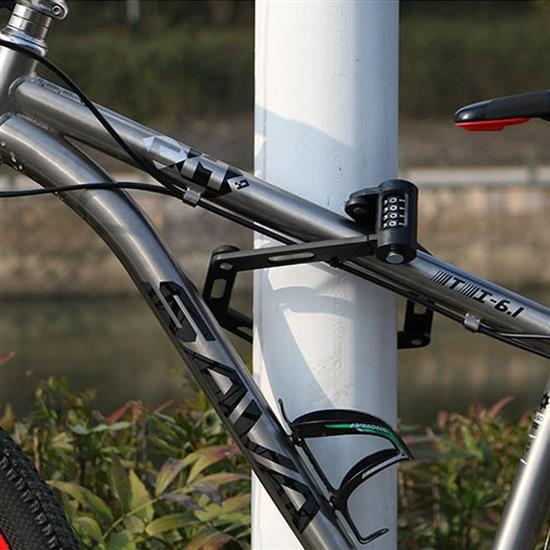 자전거 6관절락 자물쇠 폴딩잠금 도난방지 바이크용품