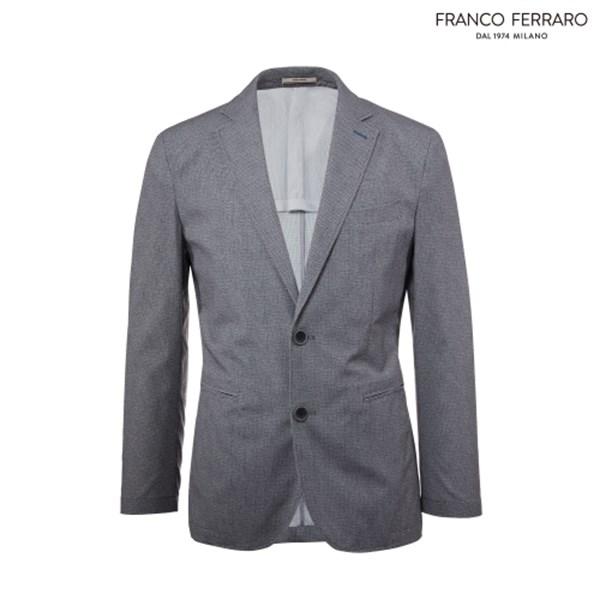 [하프클럽/franco ferraro]남성 여름 메쉬 폴리 프린트 자켓A0..