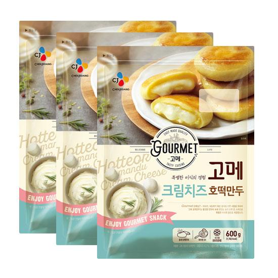 CJ 고메 크림치즈 호떡만두 x 3