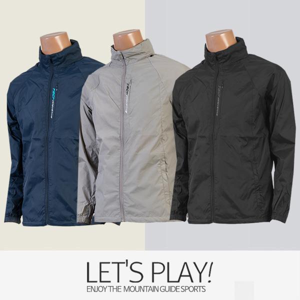 [마운틴가이드]봄,여름 등산복/단체복/자켓/점퍼/남성 등산바람막이 PGM-J91-1103