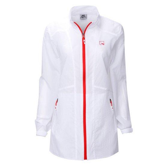 여성 바람막이 코트 점퍼 등산복 경량 아우터 DW-A9-004-화이트