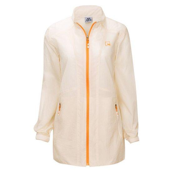 여성 바람막이 코트 점퍼 등산복 경량 아우터 DW-A9-004-크림