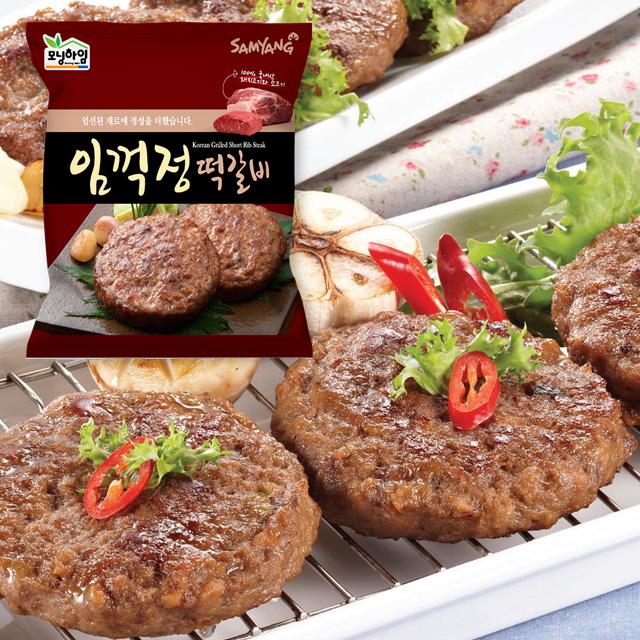 모닝하임 임꺽정 떡갈비1.2kgX3팩총36장