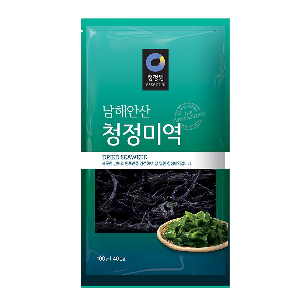 [청정원] 남해안산 청정 미역 50g20인분