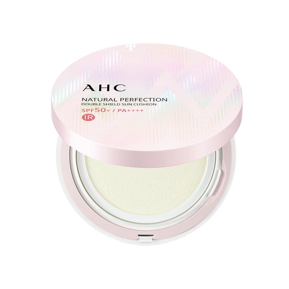 AHC 내추럴 퍼펙션 더블 쉴드 선쿠션 핑크