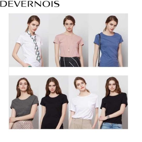 드베르누와 여성 모달 티셔츠