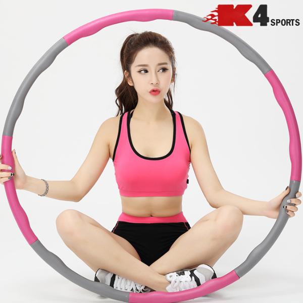 K4스포츠아몸디 K4-50 뱃살제거 다이어트 코튼훌라후프