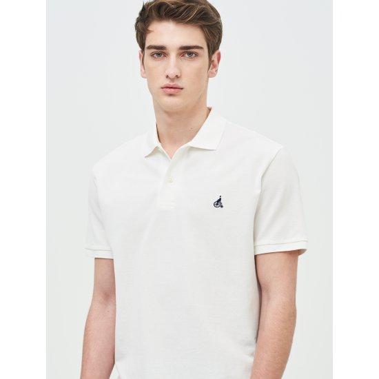 [빈폴멘] 남성 화이트 티셔츠 BC9242A011