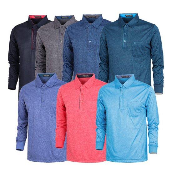 남성 골프웨어 골프티 카라넥 티셔츠 긴팔티 CLLT521