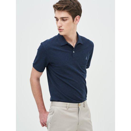 [빈폴멘] 남성 블루 티셔츠 BC9242A01P