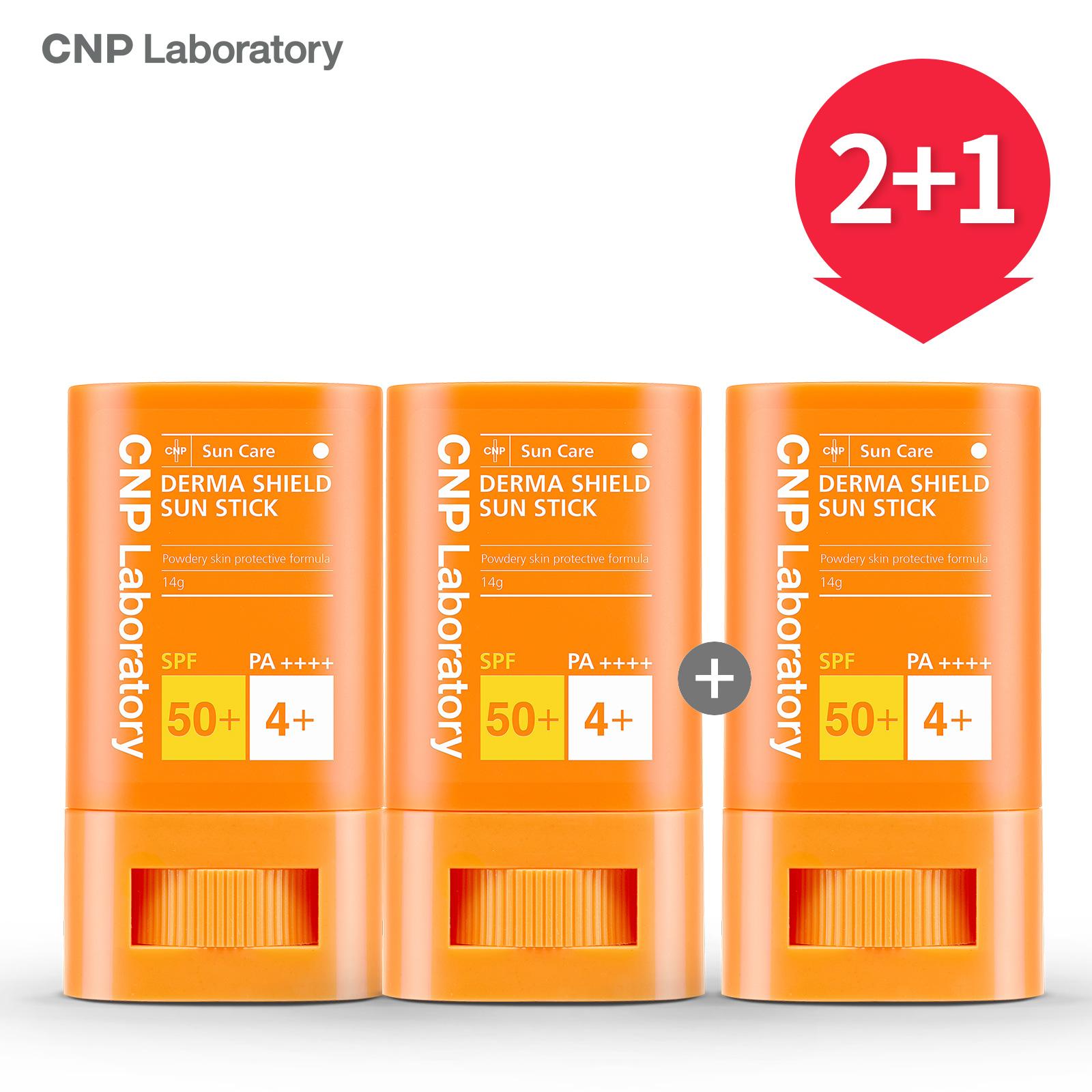 CNP 차앤박 더마 쉴드 선스틱 2+1