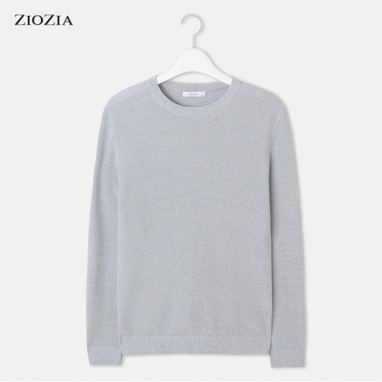 [지오지아] 라운드 스웨터 ABY1ER1105BL