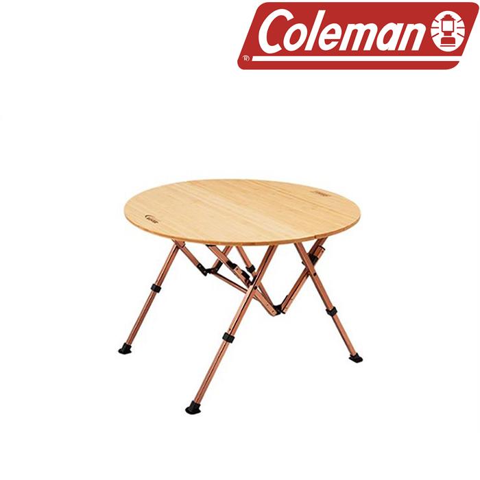 콜맨 컴포트마스터 뱀부 라운드 테이블/85 2000014231