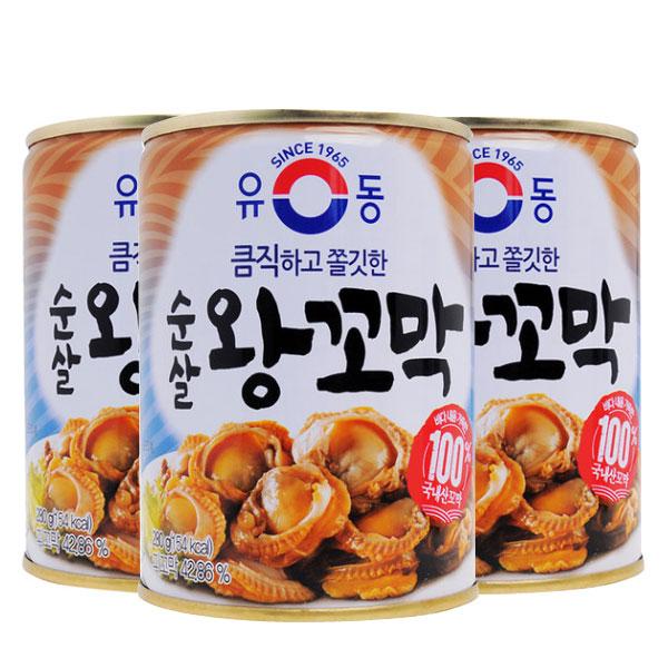 코스트코 유동 순살 왕 꼬막 400g x 3