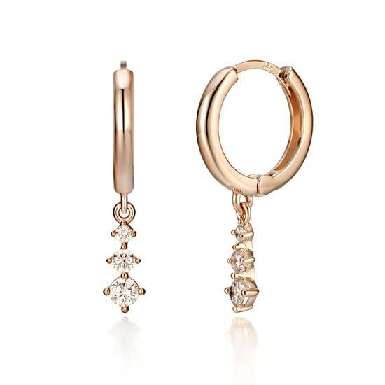 [끄란느] 14K 포인트 원터치 귀걸이 gold pin C24EGP133
