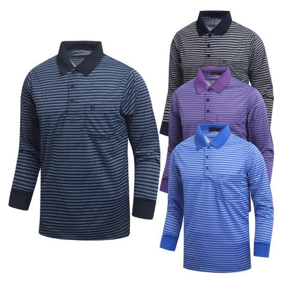 남성 골프웨어 골프티 카라넥 티셔츠 긴팔티 CLLT524